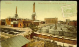 Carte Postala Ilustrata, Campina, Rafinaria, UPU, circulata 1910