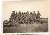Fotografie pluton aviatie si avioane Potez al doilea razboi mondial
