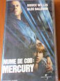 NUME DE COD MERCURY  - FILM CASETA VIDEO VHS