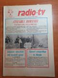 Revista radio tv saptamana 15-21 martie 1981
