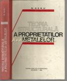 Teoria Structurala A Proprietatilor Metalelor - N. Geru