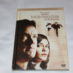 [DVD] The DaVinci Code - Extended Version - film pe dvd, Engleza