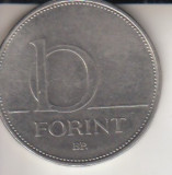 Moneda 10 forinti, Ungaria, 1997