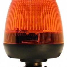 Girofar LED Galben cu prindere Din Pole