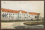 (200) CARTE POSTALA ROMANIA - LUGOJ - VARMEGYEI KOZKORHAZ, Circulata, Printata