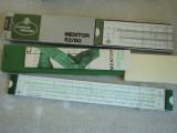 Rigla de Calcul FABER CASTELL Menthor 52/80 Cutie si Manual 32 cm - ca NOUA