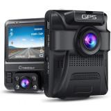 Cumpara ieftin Camera auto DVR dubla Crosstour, GPS, Full HD, unghi 170 grade, Night Vision, WDR, G-Sensor, mod parcare