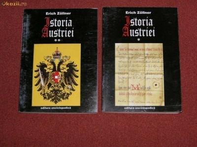 Istoria Austriei - Erich Zollner (2 vol.) foto