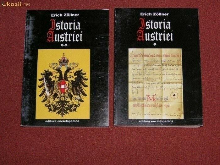 Istoria Austriei - Erich Zollner (2 vol.)