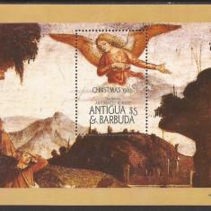 ANTIGUA & BARBUDA 1985 PICTURA ( colita dantelata ) MNH