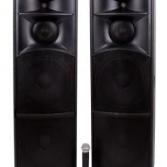 Set boxe active NRS 2020, 920W,Statie, Microfon Wifi,4 Subwoofere de 12 inch.