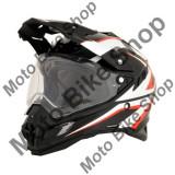 MBS Casca enduro/ATV AFX FX41AT, M, negru/alb/rosu, Cod Produs: 01105031PE