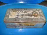 6179-Cutie veche metal tutun Turkiye Tutun Inhisari Jockey Club.