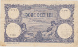 ROMANIA 20 LEI SEPTEMBRIE 1929 VF