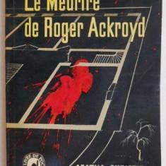 Le Meurtre de Roger Ackroyd – Agatha Christie