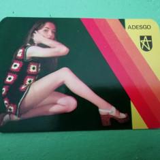 CCO 1976 - CALENDAR DE COLECTIE - TEMATICA RECLAMA - ADESGO - ANUL 1976