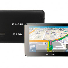 Unitate multimedia GPS 50V cu touchscreen Blow 4G HD Europa