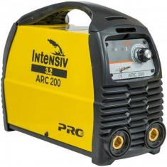 Aparat de sudura Intensiv ARC 200 VRD invertor Intensiv 230V Galben foto