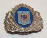 Insigna Militara - Ofiter superior JANDARMI - Coifura - insemn cascheta - cuc