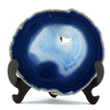 Geoda de agat albastru