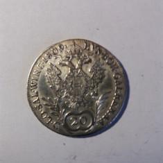 AUSTRIA 20 KREUZER 1809 A
