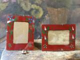 Decor / Design - Rame taranesti pictate pe sticla pentru fotografii !