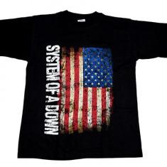 Tricou System Of A Down - flag USA