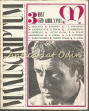 Manuscriptum. Revista Trimestriala - Nr.: 3/1987*(68) Anul XVIII