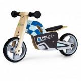 Cumpara ieftin Bicicleta de echilibru din lemn cu roti EVA Ecotoys LC-V1330 - Politie