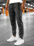 Pantaloni de trening grafit Bolf JX317