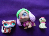 Lot 2 figurine Littlest Pet Shop, -b2