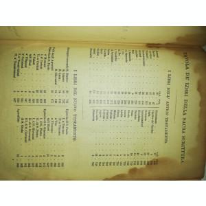 BIBLIE VECHE ITALIA / ITALIANA - 1903 - LA SACRA BIBBLIA