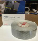 Bandă reflectorizantă Alb/Silver continu 67.03.01 (1m)