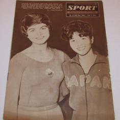 Revista SPORT-nr.21/11.1962