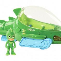 Figurina Sopi + vehicolul Sopi Mobil Deluxe - Eroi in Pijama