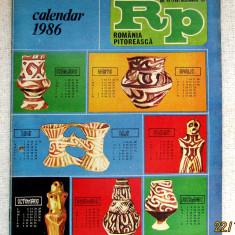 Romania Pitoreasca cu calendar - dec. 1985