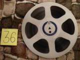 36.Banda Magnetofon AGFA rola policarb.26cm-Grey (Akai,Teac,Tascam,Revox,BASF)