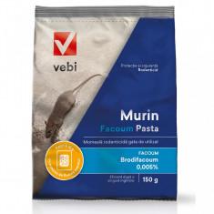Momeala rodenticida pentru soareci si sobolani Vebi - 150 g