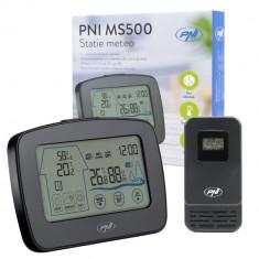 Resigilat : Statie meteo PNI MS500 cu senzor extern fara fir, afiseaza temperatura