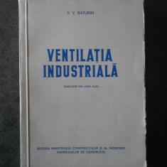 V. V. BATURIN - VENTILATIA INDUSTRIALA