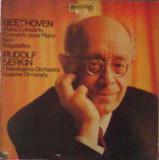 Vinil Beethoven, Rudolf Serkin – Piano Concerto No.1 - Bagatelles (EX)