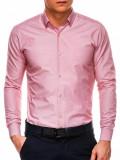 Cumpara ieftin Camasa premium barbati K529-roz, L, M
