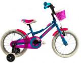 Bicicleta copii Dhs 1602 verde inchis 16 inch