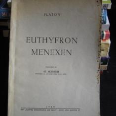 EUTHYFRON MENEXEN DE PLATON