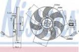 Ventilator, radiator VW GOLF VI Variant (AJ5) (2009 - 2013) NISSENS 85680