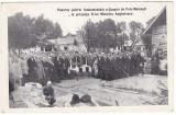 #2354 Ro, Moinesti c.p. necirc, posibil reimpresiune! Punerea pietrei fundam., Necirculata, Fotografie