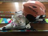 Echipament schi copii : Schiuri,Bete, Clapari,Casca