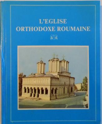 L'EGLISE ORTHODOXE ROUMAINE, MONOGRAPHIE - ALBUM de ANTONIE PLAMADEALA, NIFON PLOIESTEANUL, SABIN VERZAN, 1987 foto