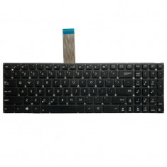 Tastatura Laptop, Asus, X550C, fara rama, us, neagra