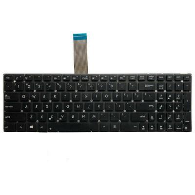 Tastatura Laptop, ASUS, K550D, fara rama, US, neagra foto